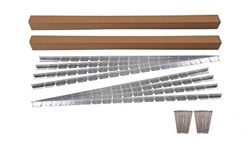 EasyFlex 1856-48C Commercial Grade Aluminum Paver Edging Kit, 48-Feet (Paver Edging Aluminum compare prices)