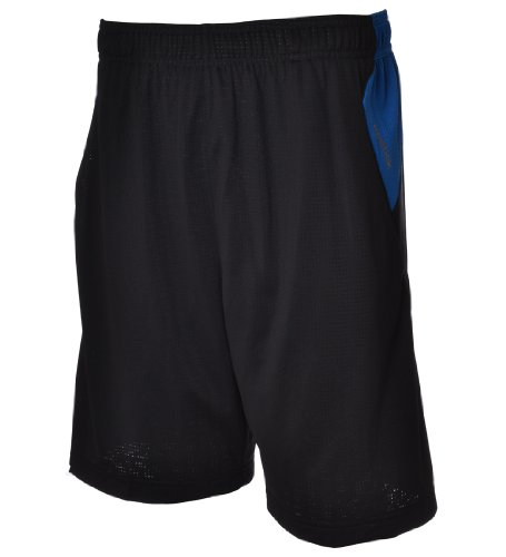 Reebok ZigTech PlayDRY Mens Training Running Gym Shorts - Black/Blue