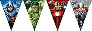 Marvel Avengers Multi Heroes Triangle flag banner