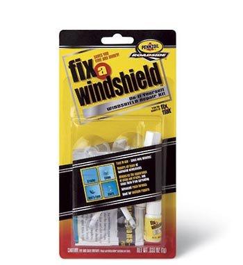 Fix-A-Flat - Fix-A-Windshield, Do-It-Yourself Windshield Repair Kit (161890)