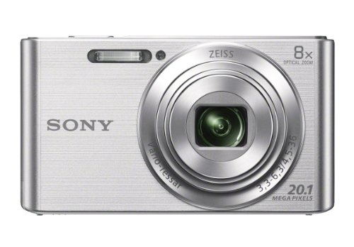 Best Deals! Sony DSCW830 20.1 MP Digital Camera with 2.7-Inch LCD (Silver)
