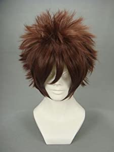 Ruler Short Naruto-gaara Brown Anime Cosplay Wig Many Roles Available