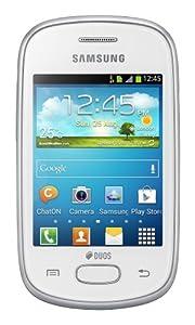 Samsung Galaxy Star Duos S5282, Dual SIM, Factory Unlocked Android SmartPhone - International Version, No Warranty