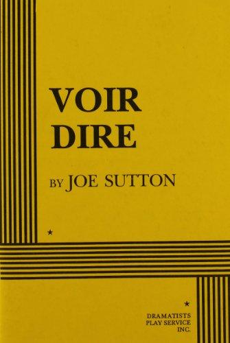 Voir Dire - Acting Edition PDF