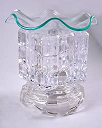 Clear Glass Electric Oil Warmer - \
