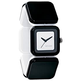 NIXON (ニクソン) 腕時計 THE MISTY ミスティ BLACK / WHITE NA107005-00 レディース