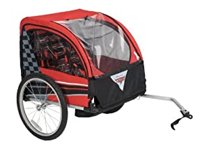 Huffy Bicycle Company Disney Cars Aluminum Bike Trailer Carrier by Huffy