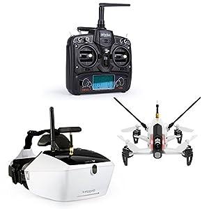 Walkera Rodeo 150 Basic Version Racing Drone Quadcopter with DEVO 7/5.8G Image Transmission FPV VR/ 600TVL Camera UAV Aircraft(White) by Walkera