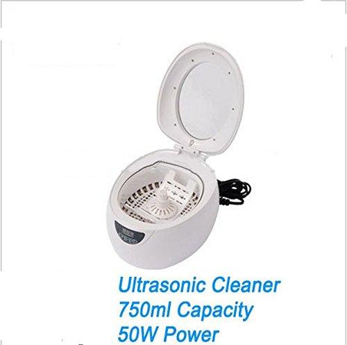 GOWE 750 ml Kunststoff Mini Digital Edelstahl innen Clean Ultraschallreiniger Ultraschallbad mit verschiedene Sachen?
