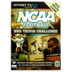NCAA Football Trivia DVD Game