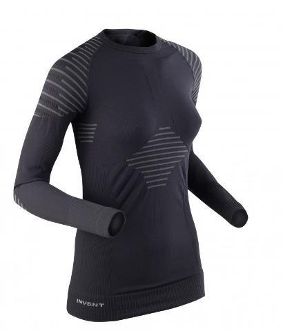 x-bionic-lady-invent-uw-maglia-tecnica-a-maniche-lunghe-donna-nero-black-anthracite-m