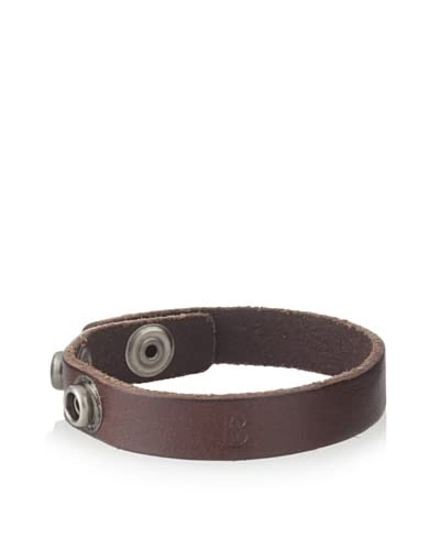 Bill Adler Brown Flat Snap Cuff As You See
