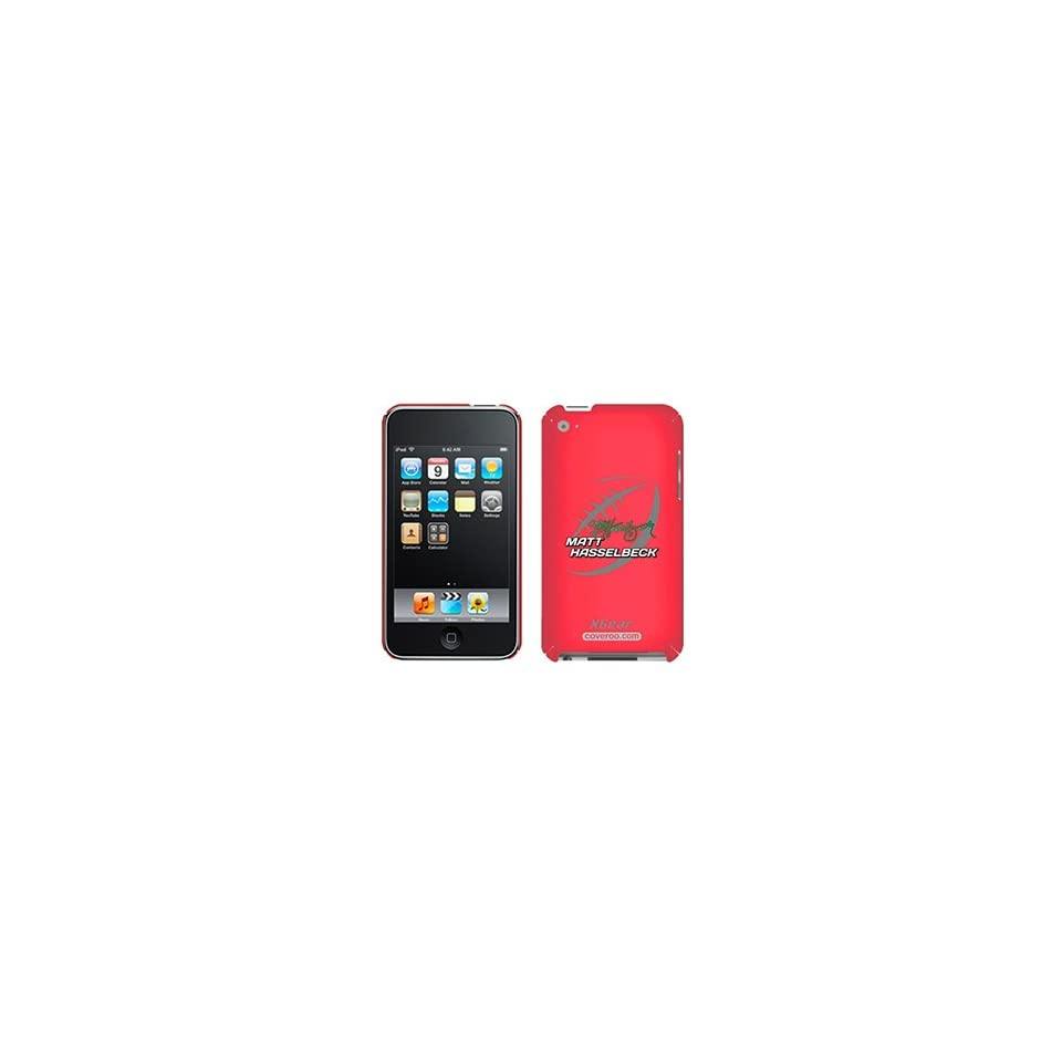 Matt Hasselbeck Football on iPod Touch 4G XGear Shell Case