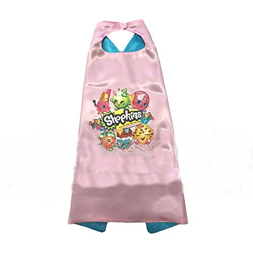 Shopkins - Cape Shopkins Costume kids birthday party favor (CAPE)
