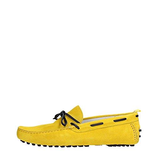 Bikkembergs BKE17916 Mocassino Uomo Scamosciato Yellow Yellow 44