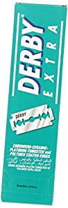 Derby Extra Double Edge Razor Blades, 100 Count