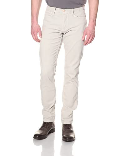 Earnest Sewn Men's Kyrre Tapered Leg Cord Pant  [Bone]