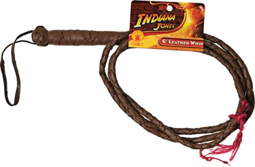 Indiana Jones 6 Leather Whip Costume Accessory