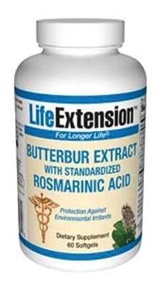 Butterbur Extract 60 Softgels