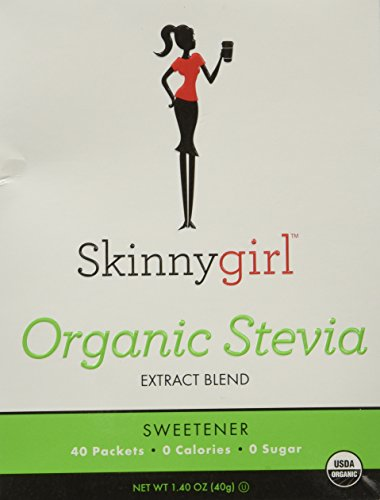 Skinny Girl Organic Stevia Extract Blend, 40 Packets