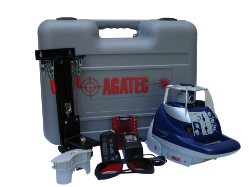 Agatec 220HV Interior Horizontal Self Leveling Rotary Laser with Semi Automatic Vertical Mode