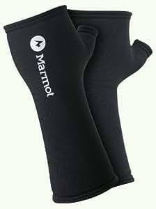 Marmot Men's Stretch Wrist Gaiter, Black, One Size