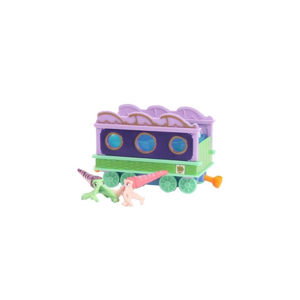 Dinosaur Train   Max and Mitch w/ Train Car