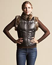 Faux Fur Down Vest