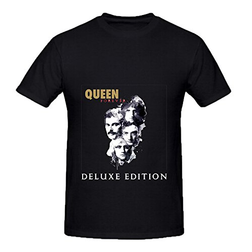 Queen-Queen-Forever-Tour-Soul-Mens-Crew-Neck-Printed-Shirts