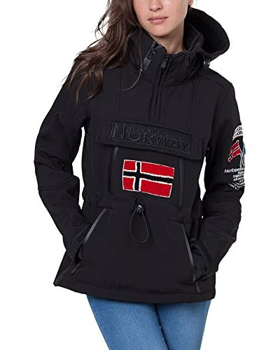 Geographical Norway Softshell Tulbeuse Negro