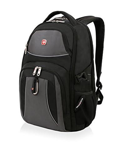 SwissGear 18.5 Laptop Backpack, Black Cod/Grey