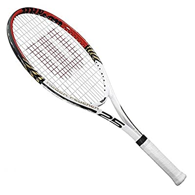 Wilson Roger Federer Junior Recreational Racquet (Red/Gold, 25-Inch)