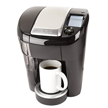 Keurig vue V500 brewing system. Its easy to brew your perfect cup, hot or over ice, with a fully programmable black and white touchscreen. Comes with strength and temperature control, 7 brew sizes, removable 60 oz water reservoir with easy fill, flip...