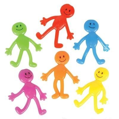 Party Hand Out Stretchy Smiley Man (24) (Party Favors For Kids compare prices)