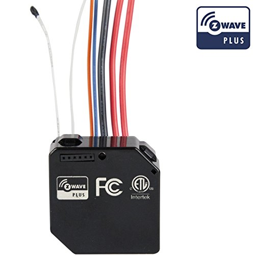 Enerwave Z-Wave Plus Switch Module ZWN-RSM2 Converting 2 Current Switches Smart, NEUTRAL WIRE REQUIRED, Black (Wifi Dimmer Module compare prices)