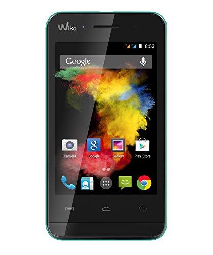 Wiko GOA Smartphone débloqué 3G+ (Ecran : 3.5 pouces – 4 Go – Android 4.4 KitKat) Turquoise