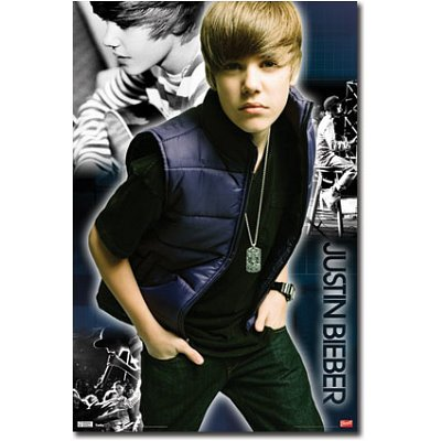 Justin Bieber (Cool) Music Poster Print - 22x34 People Poster Print