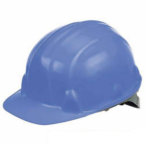 Silverline Safety Hard Hat Blue