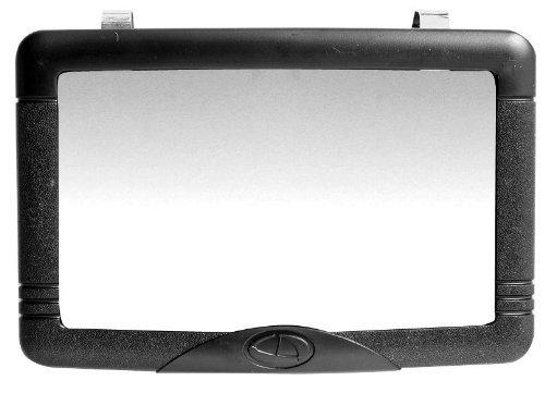 Custom Accessories 53331 Black Visor Vanity Mirror -