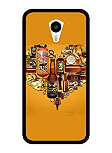 FurnishFantasy 2D Designer Back Case Cover for Meizu M1 Note