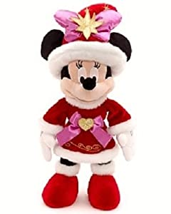 """Disney Minnie Mouse 16"""" Plush Special Edition 20th Anniversary"""
