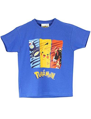 Pokemon - Maglietta a maniche corta Ragazzi - Pokemon - 9 a 10 Anni
