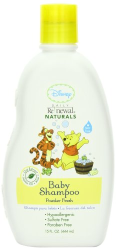 Disney Baby Shampoo Powder, Fresh, 15 Ounce (Pack of 2) - 1