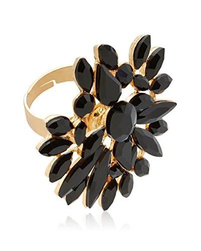 MAIOCCI Ring goldfarben/schwarz