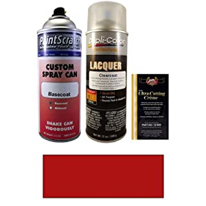 2007 Dodge Stratus Blaze Red Crystal Pearl PRH Touch Up Paint Spray