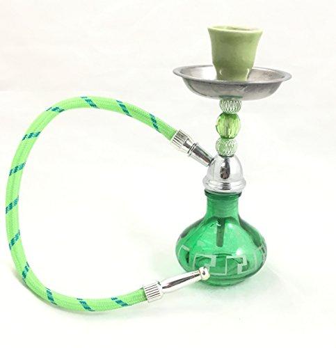 American-Pride-Glass-Mini-Portable-Tobacco-one-Hookah-Purple