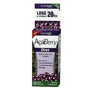 Natrol Acaiberry Diet,  60 Capsules