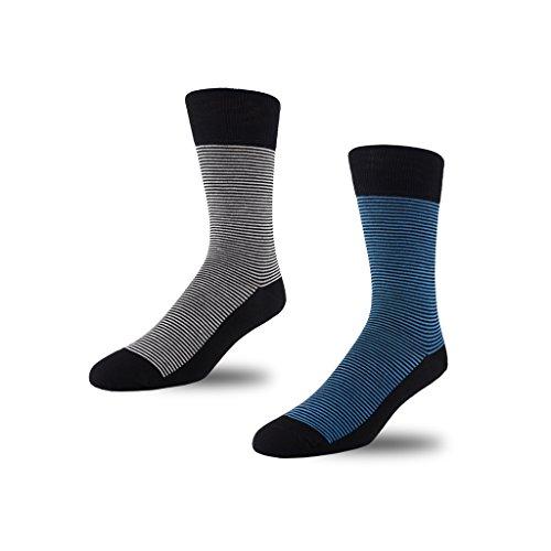 STÓR -  Calze  - Uomo Grey/Blue Medium