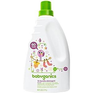 Babyganics Baby Laundry Detergent - Lavender - 60 oz