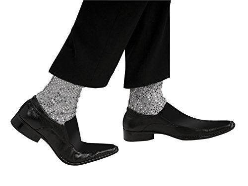 [Heaven 6 Six Pack Moonwalk Sequin Glitter Socks - Have a dance like Michael contest.] (Old Spice Man Halloween Costume)